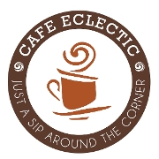 This is the restaurant logo for Cafe Eclectic
