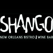 This is the restaurant logo for Shango New Orleans Bistro & Wine Bar