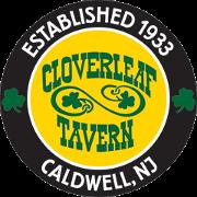 This is the restaurant logo for Cloverleaf Tavern