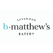 This is the restaurant logo for B. Matthew's Eatery