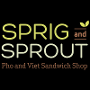 Restaurant logo for Sprig and Sprout