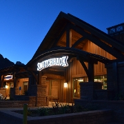 This is the restaurant logo for Switchback Grille