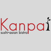 This is the restaurant logo for Kanpai Sushi