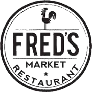 This is the restaurant logo for Fred's Market Lakeland