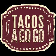 This is the restaurant logo for Tacos A Go Go