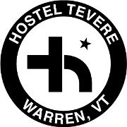 This is the restaurant logo for Hostel Tevere