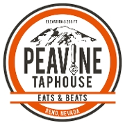 This is the restaurant logo for Peavine Taphouse
