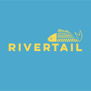 This is the restaurant logo for Rivertail Restaurant