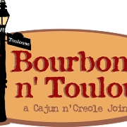 This is the restaurant logo for Bourbon n' Toulouse