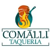 This is the restaurant logo for Taqueria Comalli