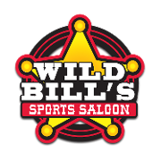 This is the restaurant logo for Wild Bill's Sports Saloon