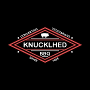 This is the restaurant logo for KnucklHed BBQ