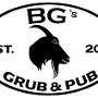 Restaurant logo for BG's Grub & Pub
