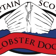 This is the restaurant logo for Captain Scott's Lobster Dock