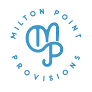 This is the restaurant logo for Milton Point Provisions