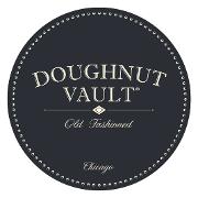 This is the restaurant logo for Doughnut Vault