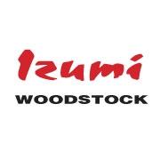 This is the restaurant logo for Izumi --Woodstock--