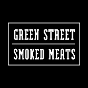 This is the restaurant logo for Green Street Smoked Meats
