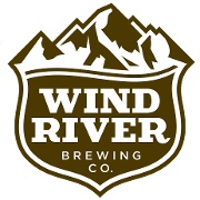 This is the restaurant logo for Wind River Brewing Company