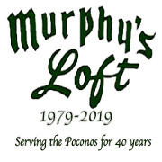 This is the restaurant logo for Murphy's Loft