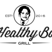 This is the restaurant logo for Healthy Boy