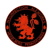 This is the restaurant logo for Insurrection Aleworks