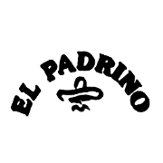 This is the restaurant logo for El Padrino Mexicano