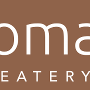This is the restaurant logo for Nomad Eatery