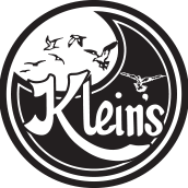 This is the restaurant logo for Klein's Fish Market