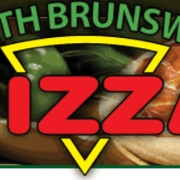 This is the restaurant logo for North Brunswick Pizza