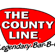 This is the restaurant logo for The County Line