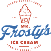 This is the restaurant logo for Mr Frostys Ice Cream