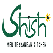This is the restaurant logo for Shish A Mediterranean Grill & Cafe