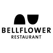This is the restaurant logo for Bellflower Restaurant