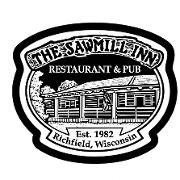 This is the restaurant logo for Sawmill Inn Restaurant