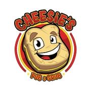This is the restaurant logo for Cheesie's Pub & Grub