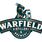 This is the restaurant logo for Warfield Distillery & Brewery
