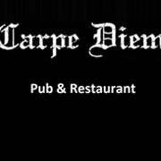 This is the restaurant logo for Carpe Diem Pub & Restaurant