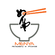 This is the restaurant logo for Menya #6