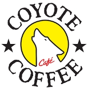This is the restaurant logo for Coyote Coffee