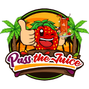 This is the restaurant logo for Pass the Juice