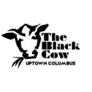 This is the restaurant logo for The Black Cow