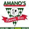 This is the restaurant logo for Amano's