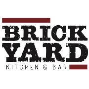 This is the restaurant logo for Brickyard Kitchen & Bar