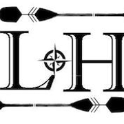 This is the restaurant logo for Lake House Kitchen & Tavern