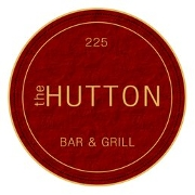 This is the restaurant logo for The Hutton Bar & Grill