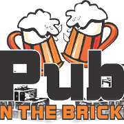 This is the restaurant logo for The Pub on the Bricks