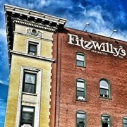 This is the restaurant logo for Fitzwilly's Restaurant