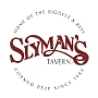 This is the restaurant logo for Slyman's Tavern