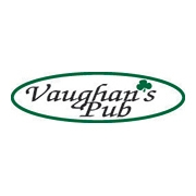 This is the restaurant logo for Vaughan's Pub & Grill